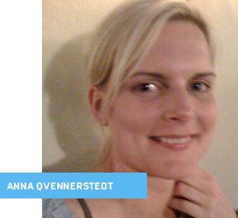 Anna Qvennerstedt Jag är copywriter på Forsman & Bodenfors. Det har jag varit sen hösten 2004, innan dess var jag i många år på en byrå som hette TBWA och ... - panel_qvennerstedt_340_201460